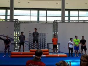 Podio Cavola Lorenzo e Pallocca Francesco CAMPIONE e VICE CAMPIONE ITALIANO SILVER LC